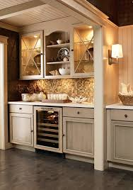 Glass Door Bar Cabinet Kitchen Astounding Image Of Kitchen Decoration Using Lamp Under