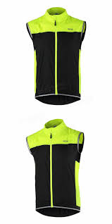bicycle windbreaker arsuxeo cycling sleeveless jacket vest waistcoat windbreaker