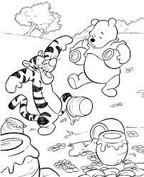 winnie pooh colouring pages 29 print color free