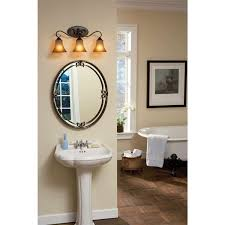 Quoizel Bathroom Lighting Quoizel Dh8603pn Bath Fixture Palla Brnz 3l