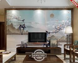 3d Wallpaper For Living Room by Online Get Cheap Deer Wallpaper Aliexpress Com Alibaba Group