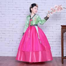 wedding wishes korean high quality children korean hanbok kids party hanbok dress for