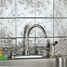 interior awesome peel and stick backsplash backsplash glass tile