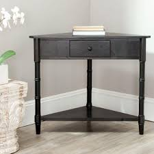 Living Room Console Tables Convenience Concepts American Heritage Black Console Table 7103081