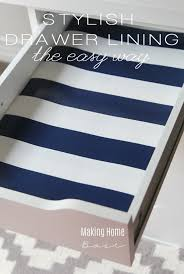 Line Desk How To Make Drawer Liners With Wrapping Paper Drawers Desks And