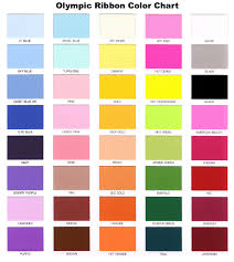 list of color ribbons personalized ribbon ordering