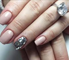 holographic nail polish and black 3 types of nail art design