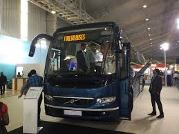 volvo bangalore address volvo showcases new coach range at busworld india 2016
