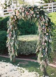 wedding arches flowers boho floral wedding arch deer pearl flowers