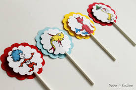 cozee dr suess lollipops cupcake toppers