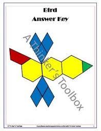 pattern blocks math activities pattern blocks animal puzzles pattern blocks math and teaching ideas