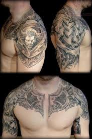 biomechanical on chest and shoulder