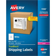 avery template 5160 free avery 5165 easy peel white shipping labels the office dealer