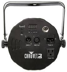 chauvet slimpar 56 led light chauvet slimpar 56 dmx rgb led wash light pssl