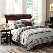 Taupe Coverlet 3 Piece Silky Satin Taupe Quilted Bedspread Coverlet Set King Size