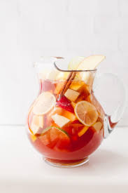 autumn apple rosé sangria wholefully