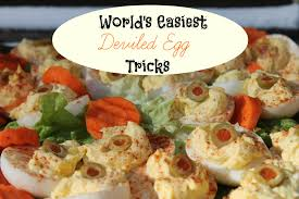world s easiest deviled egg tricks