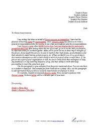 letter of recommendation sample reference letter lead magnet
