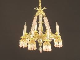 Miniature Chandelier Tammy U0027s Heirlooms Miniature Accessories Lighting Chandeliers