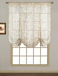 savannah embroidered curtain tie up curtain u0026 bath outlet