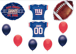 new york giants 1 fan birthday party balloons decorations