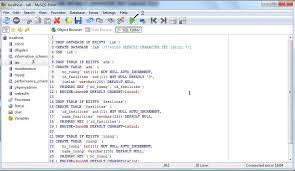 cara membuat database dengan mysql front tutorial installasi mysql front laboratorium ict terpadu