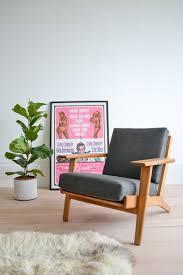 Hans Wegner Plank Sofa Danish Hans Wegner Ge290 Plank Chair Low Lounge Chair 1960 U0027s