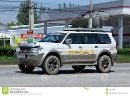mitsubishi thailand mitsubishi g wagon suv car editorial stock image image 64189544