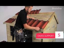 How To Re Roof A Shed With Onduline Corrugated Roofing Sheets by Made By Me How To Install Onduline Onduvilla Roofing Step By Step