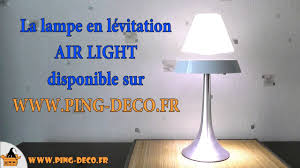 Lampe Deco Design Lampe Déco En Lévitation Air Light Blanche Www Ping Deco Fr
