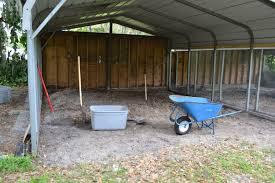 open carport carport to coop run conversion backyard chickens