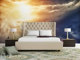 chambre ciel folie sur le ciel papier peint pour le chambres à coucher