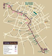 Bus Route Map Route Map Greater Manchester First Uk Bus