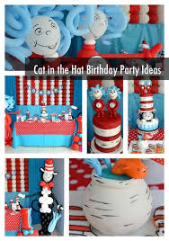 Cat In The Hat Party Decorations Cat In The Hat Birthday The Best Cat Of 2017