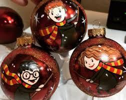 harry potter ornament etsy ca