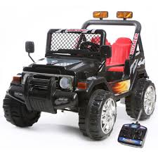 electric jeep for kids 12v two seater limited edition black ride on kids electric jeep