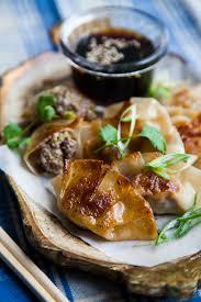 iers de cuisine gebakken japanse dumplings feestelijk hapje iers rundvlees