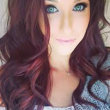 Light Burgundy Hair Black To Ash Brown Hair