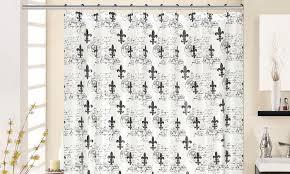 Dillards Shower Curtains Innovative Fleur De Lis Curtains And J Queen New York Valdosta