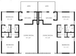 one bed quadplex plans joy studio design best house plans 35704