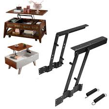 Coffee Table Hinges 1pair Multi Functional Lift Up Top Coffee Table Lifting Frame