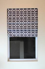 No Sew Roman Shades Instructions - diy no sew faux roman shade the spiffy cookie