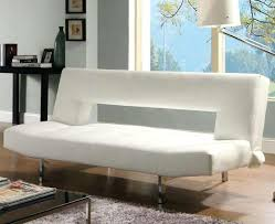 click clack sofa bed with arm storage and fold down cup holder