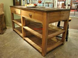 Wood Kitchen Island Table Reclaimed Wood Kitchen Island Farm Table Mesmerizing Breathingdeeply