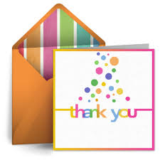 bubble thank you free thank you ecard thank you note greeting