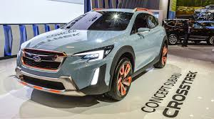 crosstrek subaru colors sporty rugged subaru crosstrek concept debuts in north america