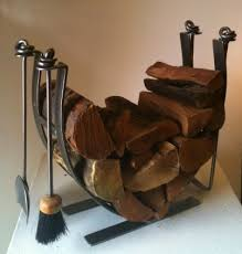 Hand Forged Woodworking Tools Uk by Modern Steel Fireside Set Contemporary Steel Log Basket And Fire