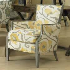Gray And Yellow Living Room Modern Home Design Pictures - Floral accent chairs living room