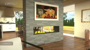 ortal modern linear gas fireplaces youtube