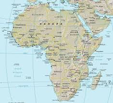 africa e asia mappa maps of africa